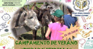 X CAMPAMENTOS DE VERANO