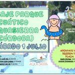 Viaje al parque acuático Aquasierra