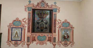 Bendición del azulejo de Ntra. Sra. del Rosario