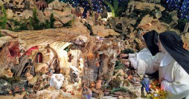 Visitas al Belén de las dominicas