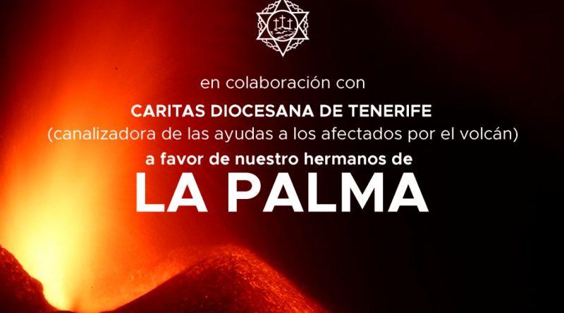 Campaña de Caridad por los damnificados de LA PALMA